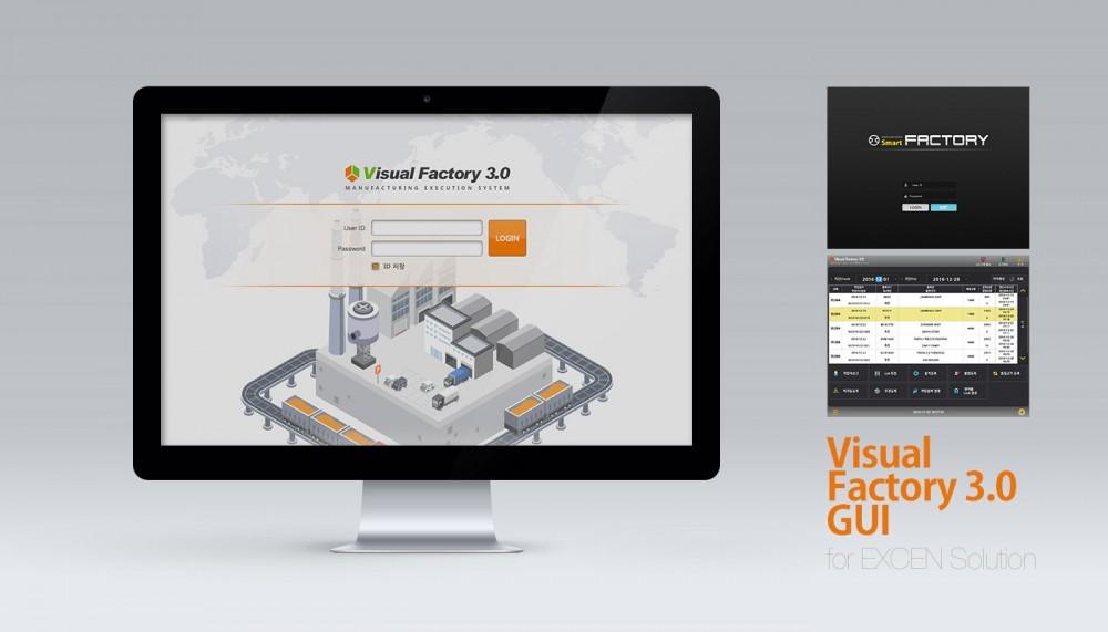 Visual Factory 3 GUI