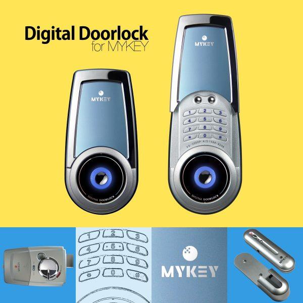 1200_DigitalDoorlock_MYKEY
