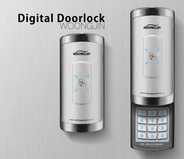 1200_Digital_Doorlock_WOONGJIN