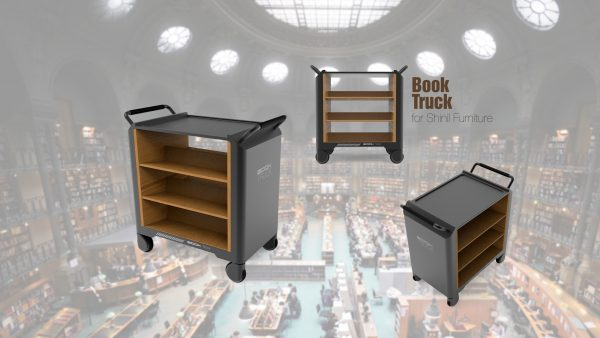 Book Truck for Shinil Furniture