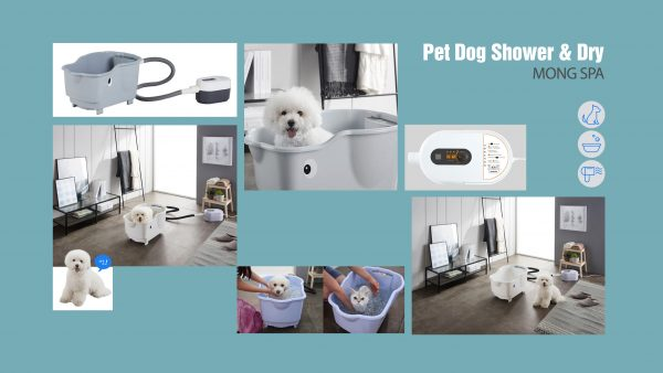Pet Dog Shower Dry_2