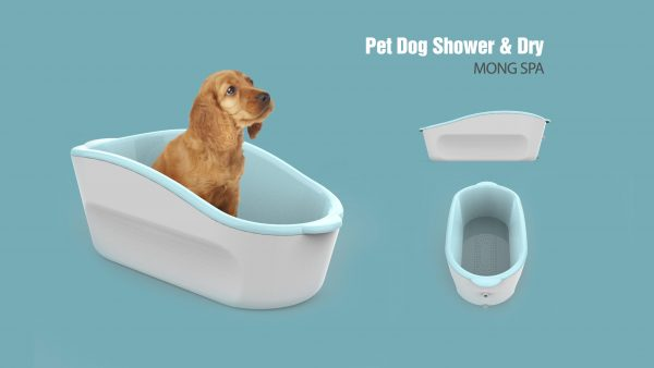 Pet Dog Shower Dry